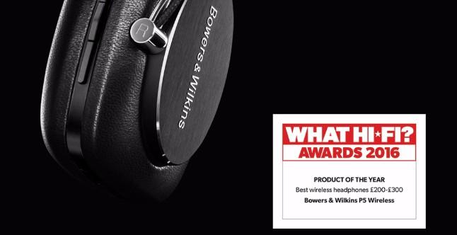 Éxito de Bowers & Wilkins en los Premios What Hi-Fi? 2016