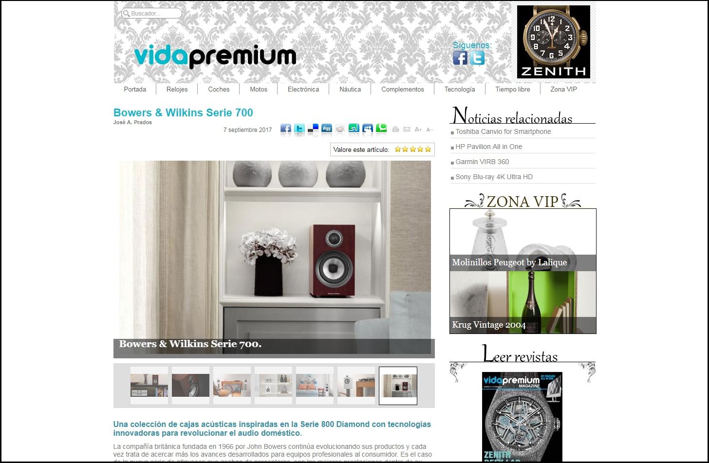 Serie 700 web vidapremium.com