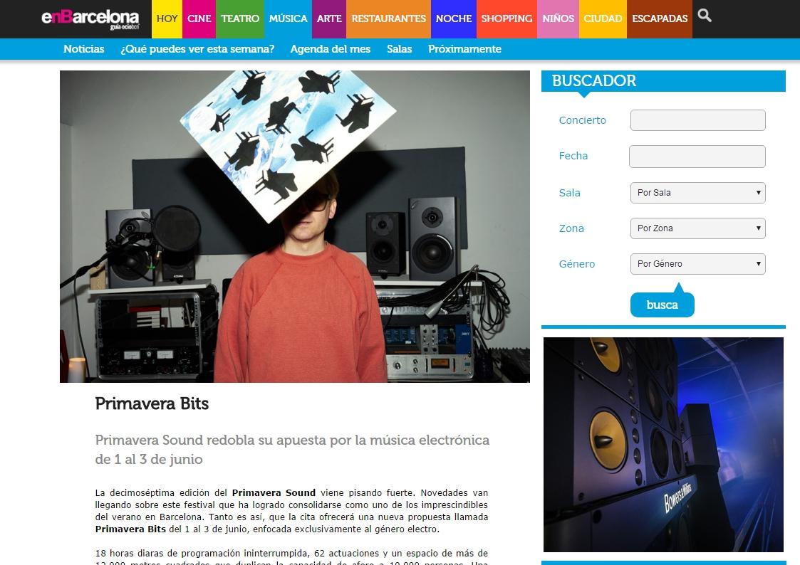 enBarcelona: Desperados Club dará caña a partir de las 12 del mediodía con el clásico Bowers & Wilkins Sound System