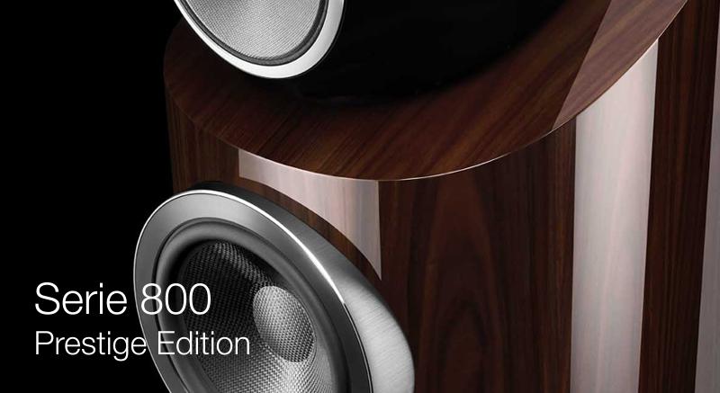 Bower & Wilkins anuncia el lanzamiento de la Nueva Serie 800 Prestige Edition