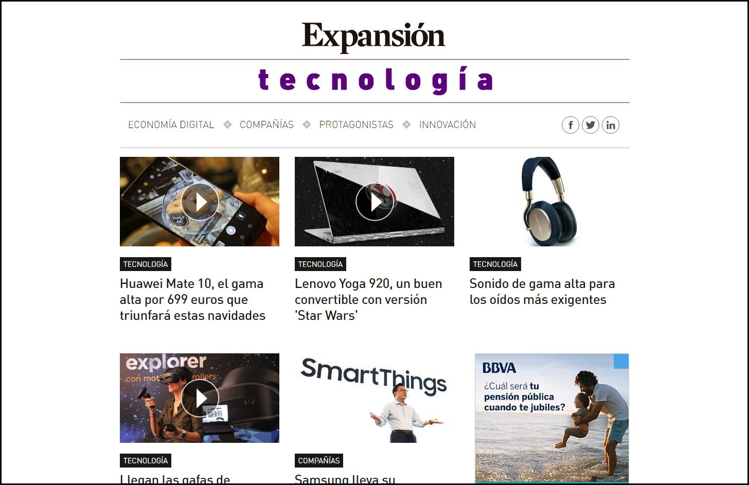 Auriculares PX web Expansión