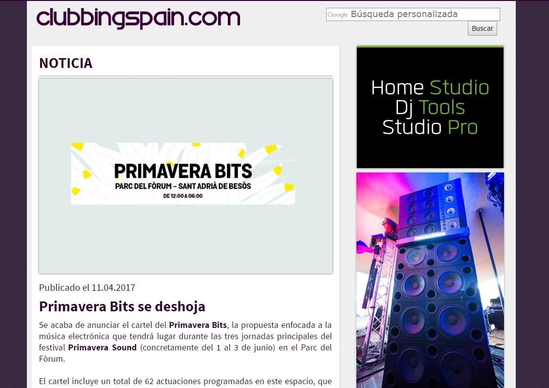 Clubbing Spain: El ya clásico Bowers & Wilkins Sound System, reedita su colaboración anual con el festival.