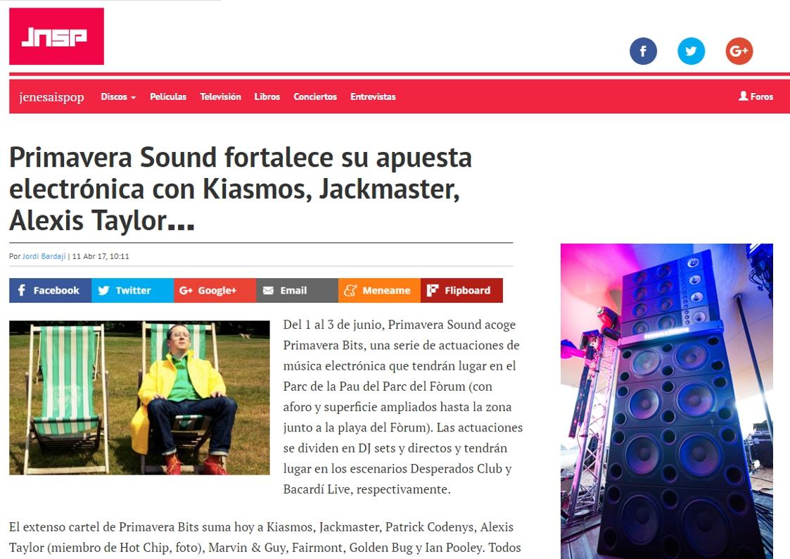 jenesaispop: Primavera Sound fortalece su apuesta